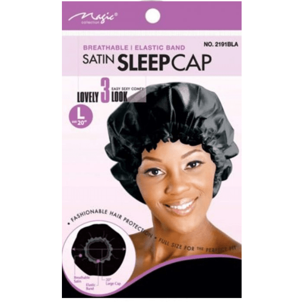 Magic Collection [Satin] Sleep Cap – Ochranný čepec na spaní