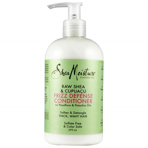 Shea Moisture Raw Shea & Cupuacu Frizz Defense Conditioner – Kondicionér proti krepu 379 ml