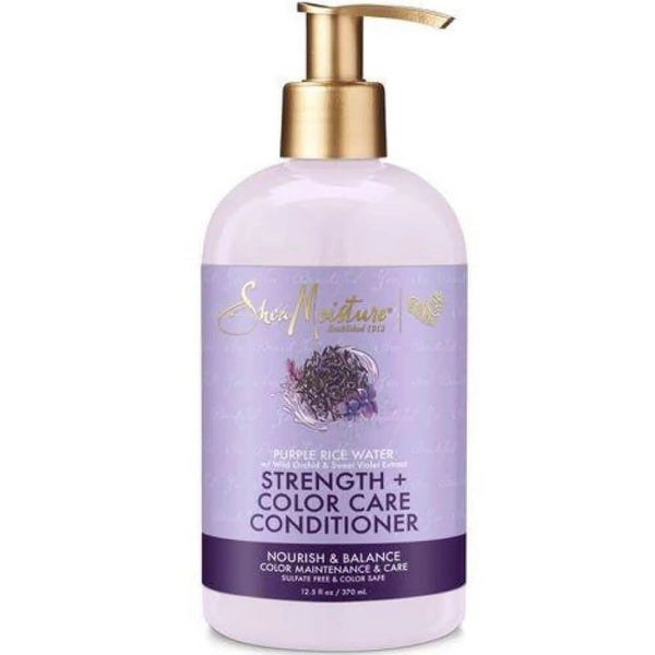 Shea Moisture Strength + Color Care Conditioner – Kondicionér pro barvené vlasy 370 ml