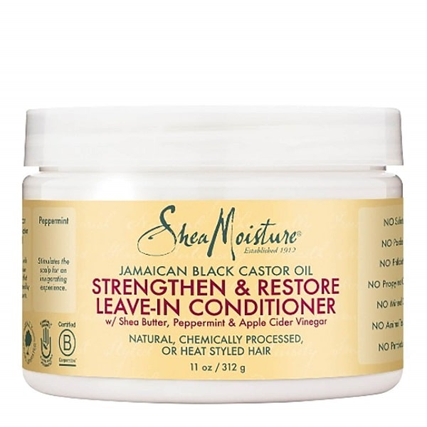 Shea Moisture Jamaican Black Castor Oil Strenghten & Restore Leave-in Conditioner – Regenerační leave-in 312 g