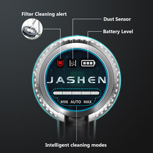 V18S CORDLESS VACUUM CLEANER | 350W 22KPA | 2 Pack SAMSUNG BATTERIES | SMART SCREEN | JASHEN