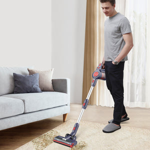 D18 Cordless Stick Vacuum Cleaner | 250W 17KPA  | Removable Battery | JASHEN