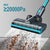 V18 Cordless Vacuum Cleaner | 350W 22Kpa | Samsung Battery | Smart Screen | JASHEN