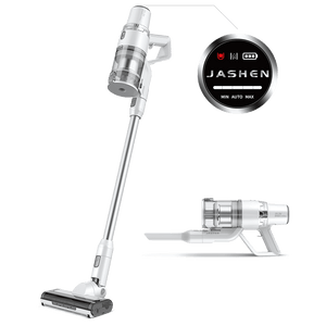V17 Cordless Vacuum Cleaner | 22KPA 350W | Digital Screen with Strong Suction | JASHEN