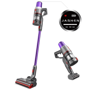 V16 Cordless Vacuum Cleaner | 350W 22Kpa | Up to 40 Mins Run time | Smart Screen | JASHEN