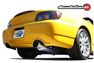 GReddy Honda S2000 63.5mm Revolution RS Single Exit Cat-Back Exhaust - Nightrun Garage