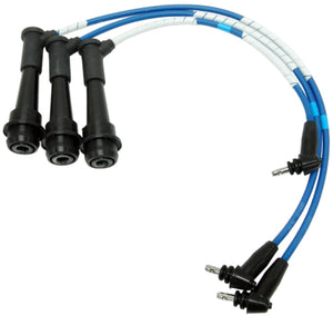 NGK IS300 Blue Ignition Spark Plug Wire Set