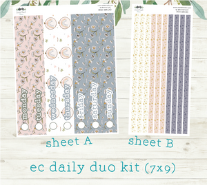 EC Daily Duo Kit, Dwell in the Daisies, D-165