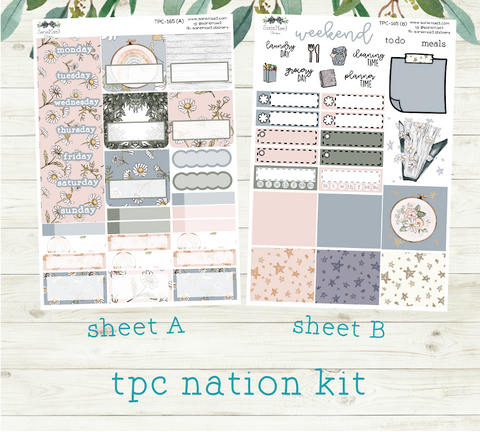 TPC Nation Academic Weekly Kit, Dwell in the Daisies, TPC-165