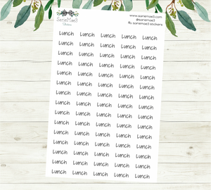 Lunch Planner Stickers (JenPlans)