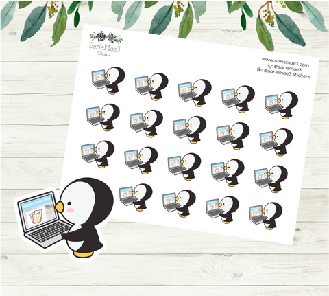 Penguin Ordering Stickers
