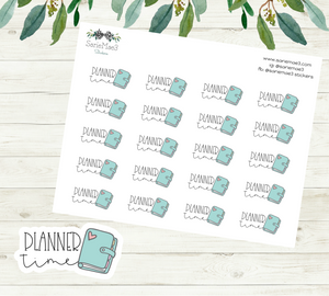 Planner Time Planner Stickers