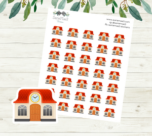School House Planner Stickers