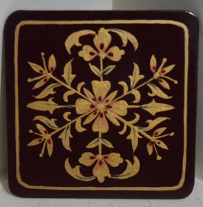 Coasters Set of 6 pieces with stand