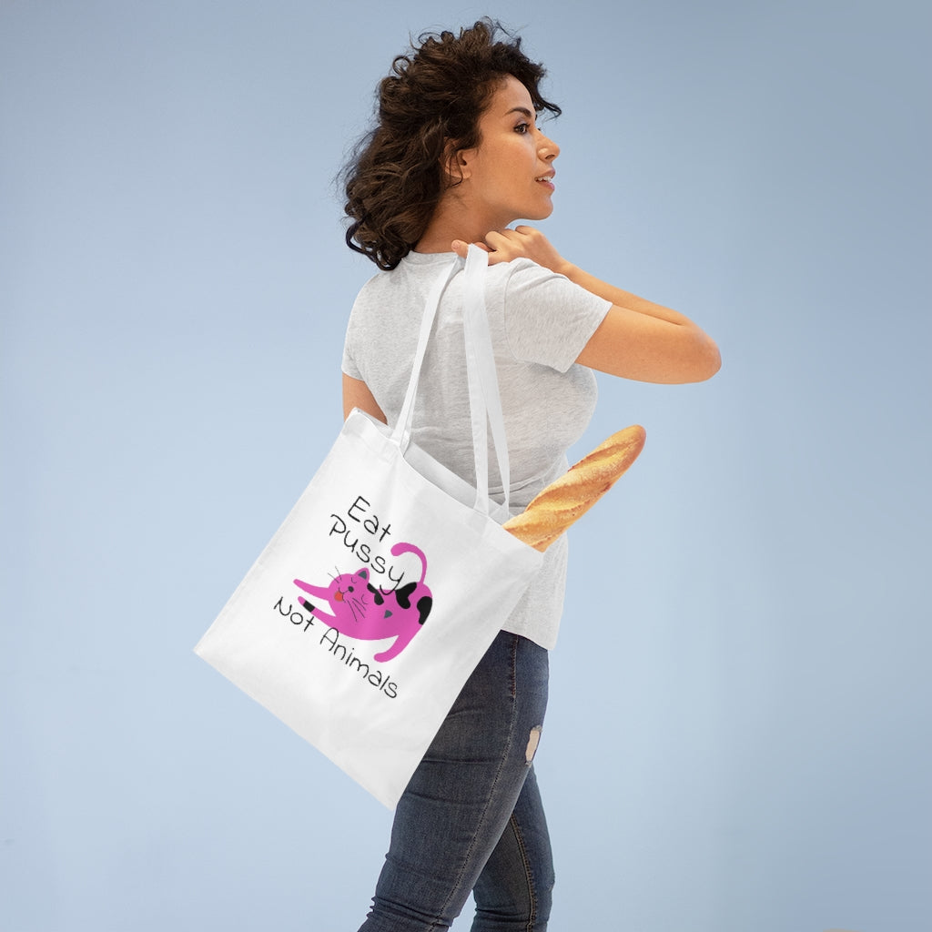 Eat Pussy Tote Bag
