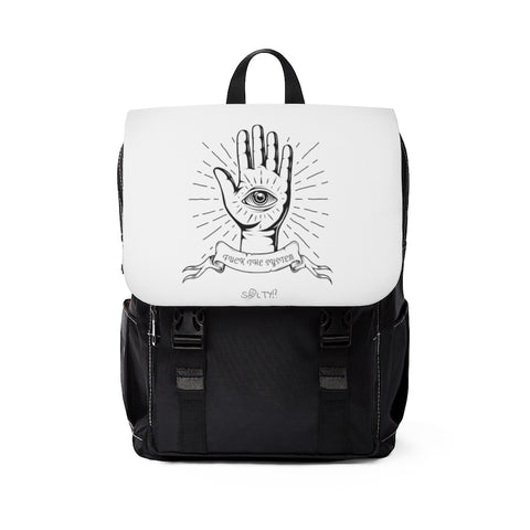Fuck The System Unisex Shoulder Backpack