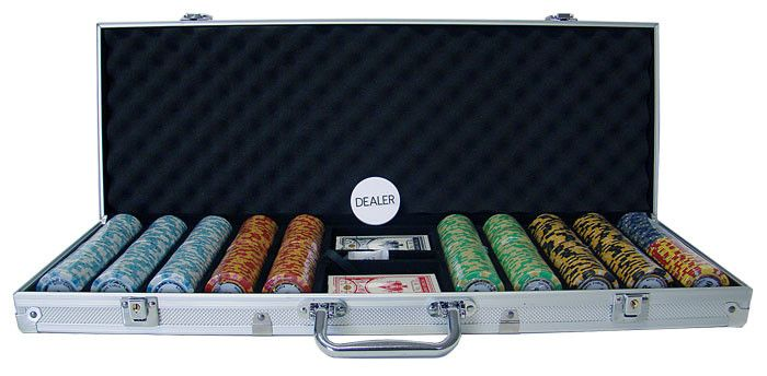 Phỉnh poker Poker Knights set 500 chip
