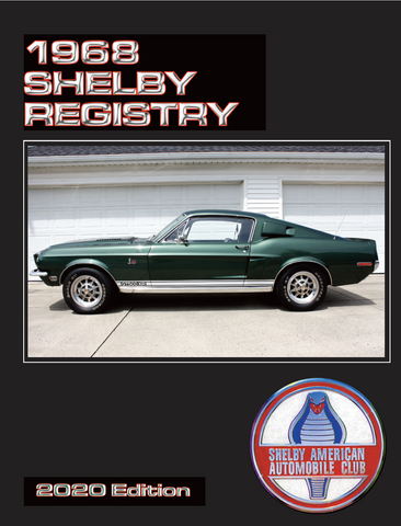 1968 Shelby Mustang Registry, 5th Edition (2020)
