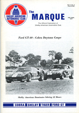 The Marque Vol 2 #2 (Feb - March 1977, 66 pages)