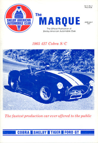 The Marque Vol 2 #4 (June - July 1977, 74 pages)