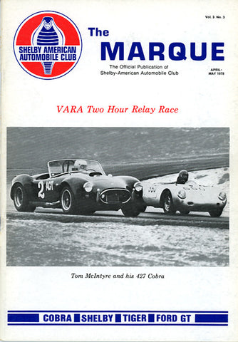 The Marque Vol 3 #3 (April - May 1978, 66 pages)