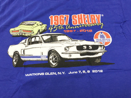 45th Anniversary of '67 Shelby Tee Shirt (postage included)