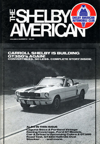 Shelby Am. (Vol. 5 #5 Sep-Oct 1980 - 66 pgs.)