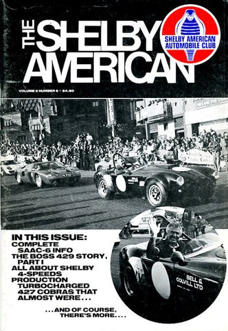 Shelby Am. (Vol. 5 #6 Nov-Dec 1980 - 66 pgs.)