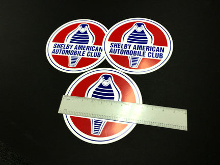 "8"" Mylar SAAC Decal (2 decals)"