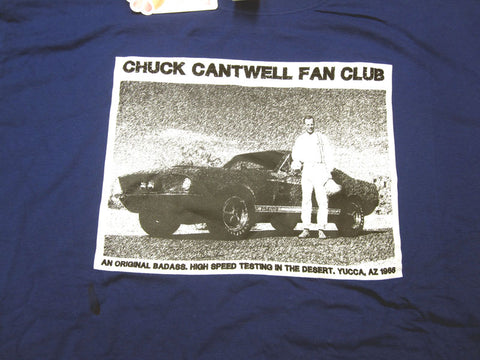 Chuck Cantwell Fan Club Tee Shirt