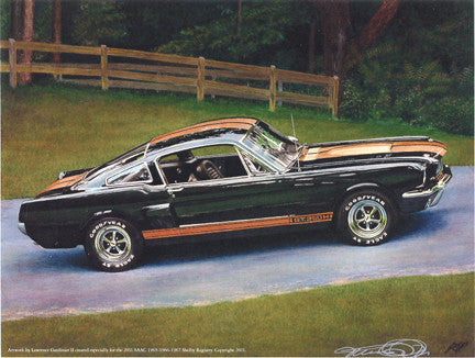 1966 Hertz car - Registry Illustration of 6S1900