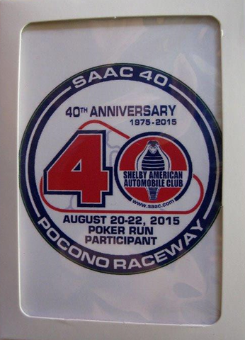 SAAC-40 Playing cards