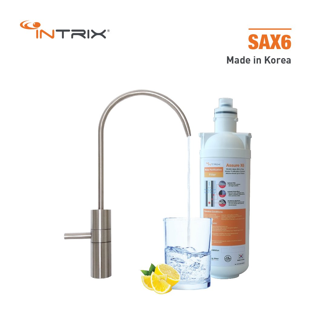 (NEW DEALER SIGN UP PROMO) ASSURE SAX6 Undersink Water Purification System
