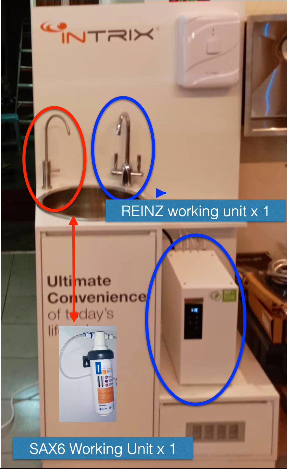 (NEW DEALER SIGN UP PROMO) REINZ COOKING TAP & SAX 6 DISPLAY RAK