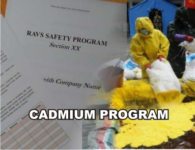 Cadmium Program - ISNetworld RAVS Section - US