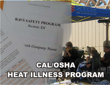 Cal/OSHA Heat Illness Program - ISNetworld RAVS Section - US