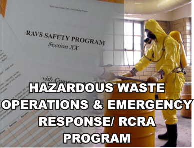 Hazardous Waste Operations & Emergency Response/ RCRA Program - ISNetworld RAVS Section - US