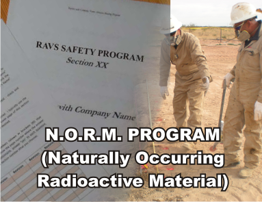 Natural Occurring Radioactive Material – NORM Program - ISNetworld RAVS Section - US