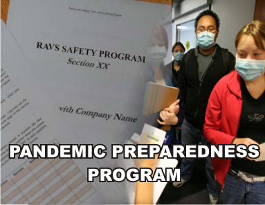 COVID 19 Pandemic Preparedness Program - ISNetworld RAVS Section - US
