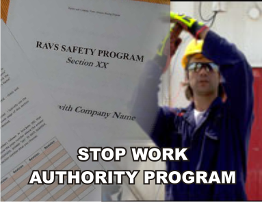 Stop Work Authority Program - ISNetworld RAVS Section - US