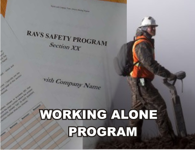 Working Alone Program - ISNetworld RAVS Section - US