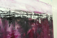 "Laden Sie das Bild in den Galerie-Viewer, Acrylbild Original - ""Magenta""  - 60x60 cm"