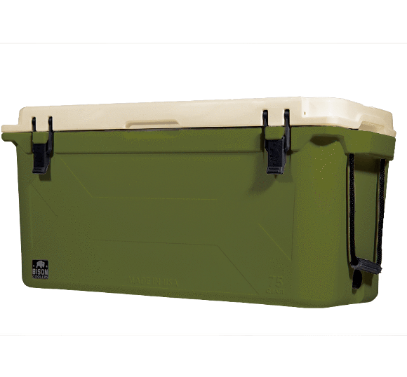 75 QT. Bison Cooler (Gen 2) - River Rock Camping