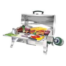 "Load image into Gallery viewer, MAGMA SIERRA™ 9"" X 18"" CAMPING RV GAS GRILL - River Rock Camping"