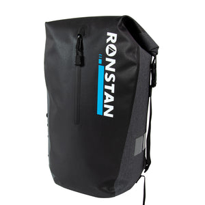 RONSTAN DRY ROLL TOP - 30L BAG - BLACK & GREY - River Rock Camping