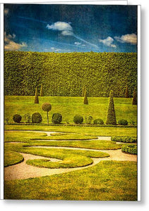 Hampton Court 'The Privy Garden - Greeting Card