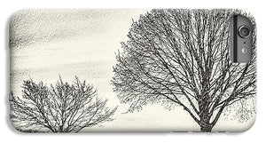 Two Trees in a field - Phone Case