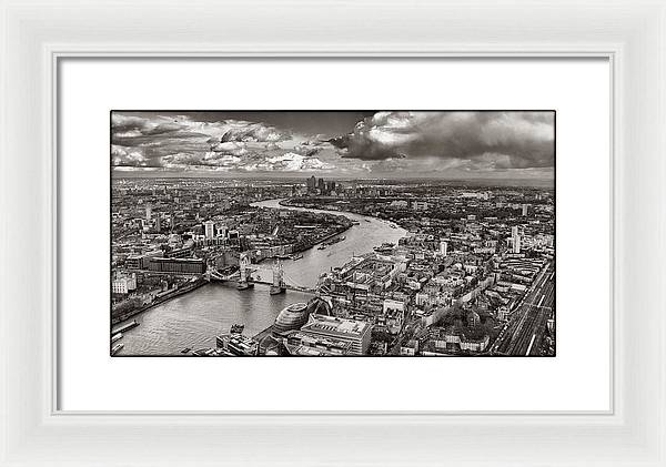 The Shard - The View - Framed Print