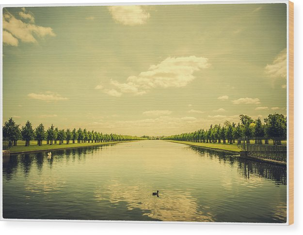 A Royal Long Lake - Wood Print