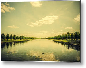 A Royal Long Lake - Metal Print